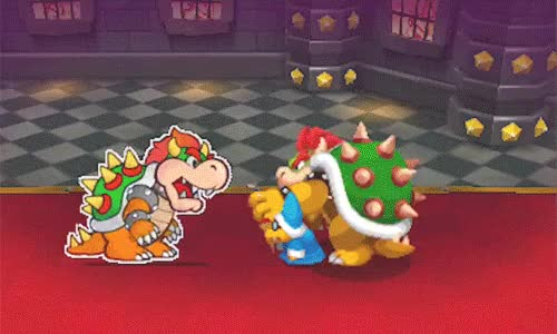 Watch and share Image Result For Mario And Luigi Paper Jam GIFs on Gfycat