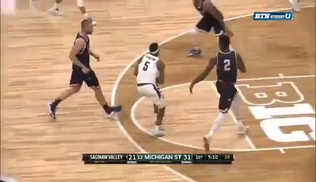 Watch and share Miles Bridges Dunk Vs SVSU GIFs on Gfycat