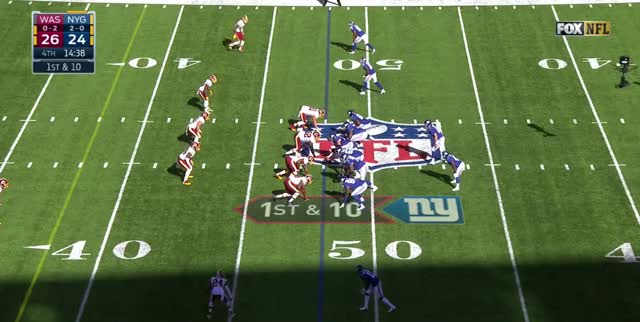 Watch and share Giants Redskins Throw 1 GIFs by Austin Belisle on Gfycat