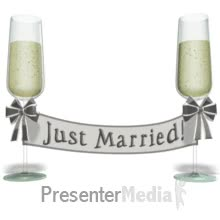 Watch Champagne Banner Just Married PowerPoint Animation GIF on Gfycat. Discover more related GIFs on Gfycat