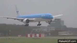 Watch and share STORM SCHIPHOL KLM GEVAARLIJKE LANDING PH GIFs on Gfycat