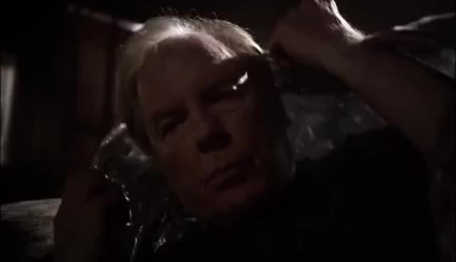 AMC, bettercallsaul, chuck, mcgill, Better Call Saul: Chuck Runs out in Space Blanket GIFs