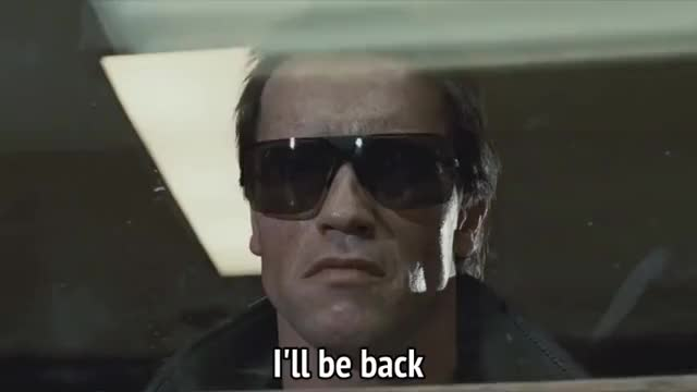 Watch and share Arnold Schwarzenegger GIFs and I Ll Be Back GIFs by MikeyMo on Gfycat