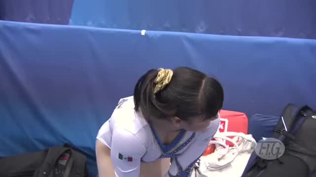 Watch smiling gymnast GIF on Gfycat. Discover more Apparatus, Equipe, Etats-Unis, FIG, FInal, Japan, Japon, Kohei, Komova, Maroney, McKayla, Russia, Russie, USA, Uchimura, Victoria, sport, sports, video GIFs on Gfycat