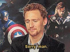 Watch sorry bro GIF on Gfycat. Discover more tom hiddleston GIFs on Gfycat