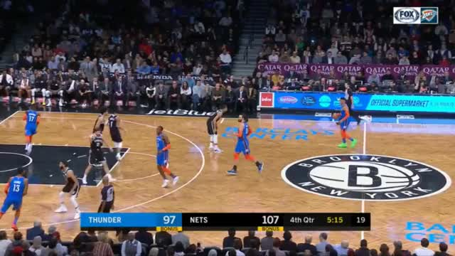 Watch and share Brooklyn Nets GIFs and Basketball GIFs by upthethunder on Gfycat