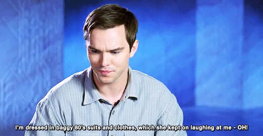 Watch and share Nicholas Hoult GIFs on Gfycat
