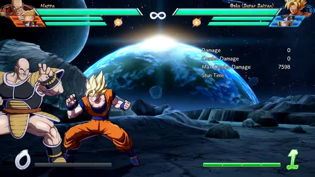 Watch and share Goku - Corner - 5M Into 1-Super X2 (most Damage) - 6529 Damage GIFs by robro on Gfycat