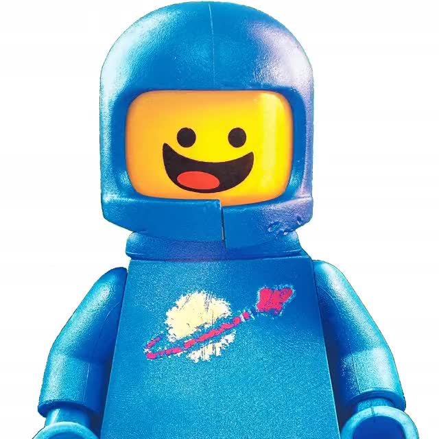 Watch and share 160301 Benny From The Lego Movie Sq animated stickers on Gfycat