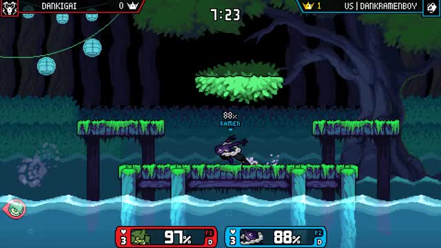 Watch and share Rivals Of Aether GIFs and Ranno Of Aether GIFs by DankRamenBoy on Gfycat