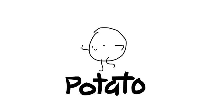 Watch and share Potato animated stickers on Gfycat