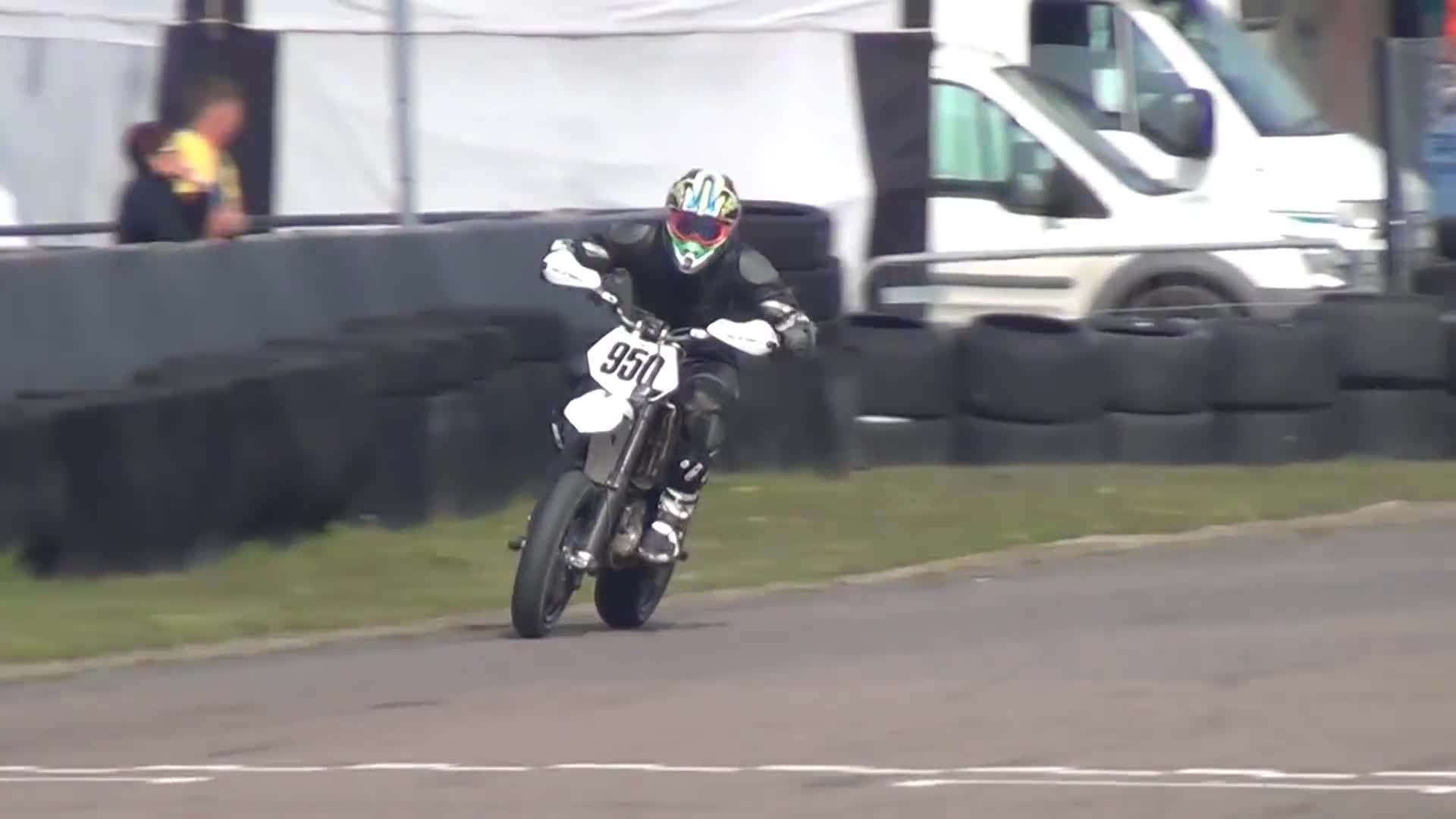 Bikes, British, Dirt, GP, Moto, Motorcycle, Motorsport, Racing, Supermotard, Supermoto, BRITISH SUPERMOTO OPEN ELITE CHAMPIONSHIP 2014 R1 - LYDD GIFs