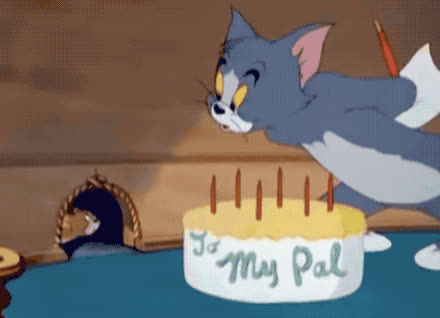 bday, best, bff, birthday, cake, candles, cute, for, friend, happy, happy birthday, jerry, me, my, pal, surprise, tom, yes, you, Birthday cake for my pal GIFs
