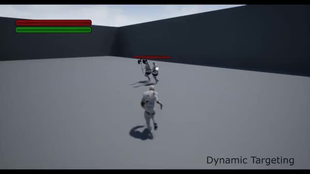 Unreal Engine 4 - Dynamic Combat System Preview GIF | Find, Make