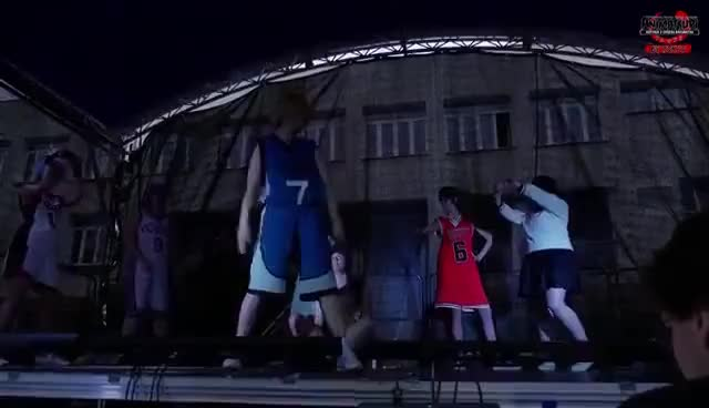 Watch Animatsuri 2015 Cosplay -  Basketball rednecks (Kuroko no Basket) 12 GIF on Gfycat. Discover more related GIFs on Gfycat