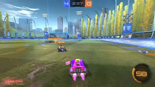 Watch Lending a helping hand - Rocket League GIF on Gfycat. Discover more Rocket League, rocketleague GIFs on Gfycat