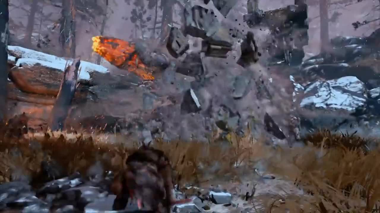 All Tags, E3, GamePlay, Kratos, Norse, combat, creature, discovery, father, incredible, mythology, son, God of War - Be A Warrior: PS4 Gameplay Trailer | E3 2017 GIFs