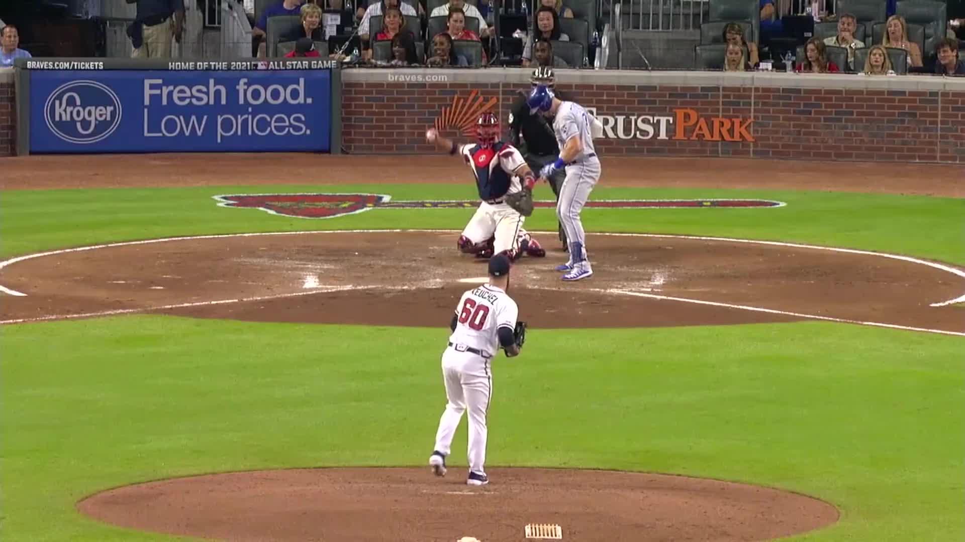 atlanta, atlanta braves, baseball, braves, Dallas Keuchel falls down randomly. GIFs