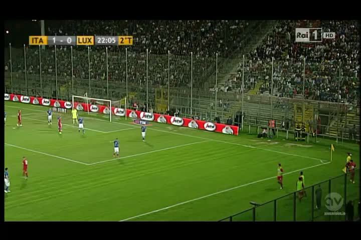soccer, yesyesyesno, Incredible Luxembourg throw-in against Italy (reddit) GIFs