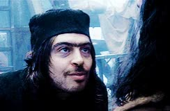 Watch TO WHATEVER END GIF on Gfycat. Discover more Alfrid, Bard, Luke Evans, Ryan Gage, The Desolation Of Smaug, The Hobbit, ~, ~gifs, ~le, ~rg, ~thehobbit GIFs on Gfycat