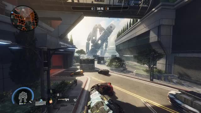 Watch and share Finally Managed To Grapple To The Fold Weapon Over The Tube GIFs by meta_username on Gfycat