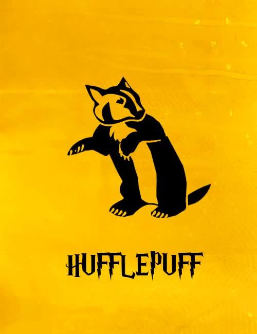 Watch and share Hufflepuff House GIFs on Gfycat