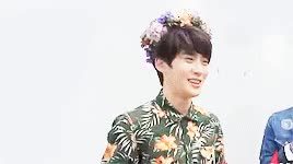 Watch Flower boy Jaehyun feat. Doyoung GIF on Gfycat. Discover more *, *gif: doyoung, *gif: jaehyun, *gifs, MC, doyoung, idk how to sharpen gifs T_T, jaehyun, predebut, smrookies, sr15b, they always look overly sharpened in ps then the web preview is completely different so GIFs on Gfycat