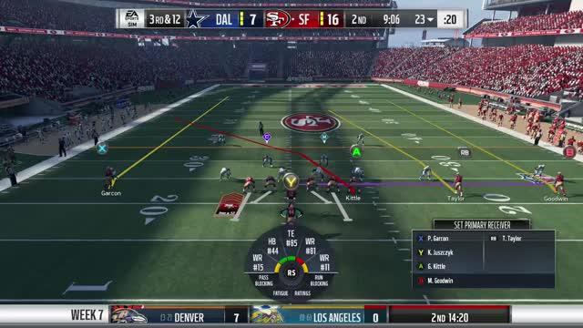 Watch Trent Taylor wk6 GIF by Xbox DVR (@xboxdvr) on Gfycat. Discover more MaddenNFL18, br0wnski, xbox, xbox dvr, xbox one GIFs on Gfycat