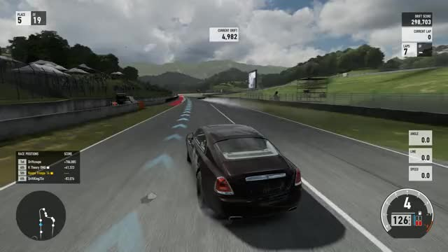 Watch and share Forza Motorsport 7 - Drifting A Rolls Royce GIFs by Twinkle.Toes. on Gfycat
