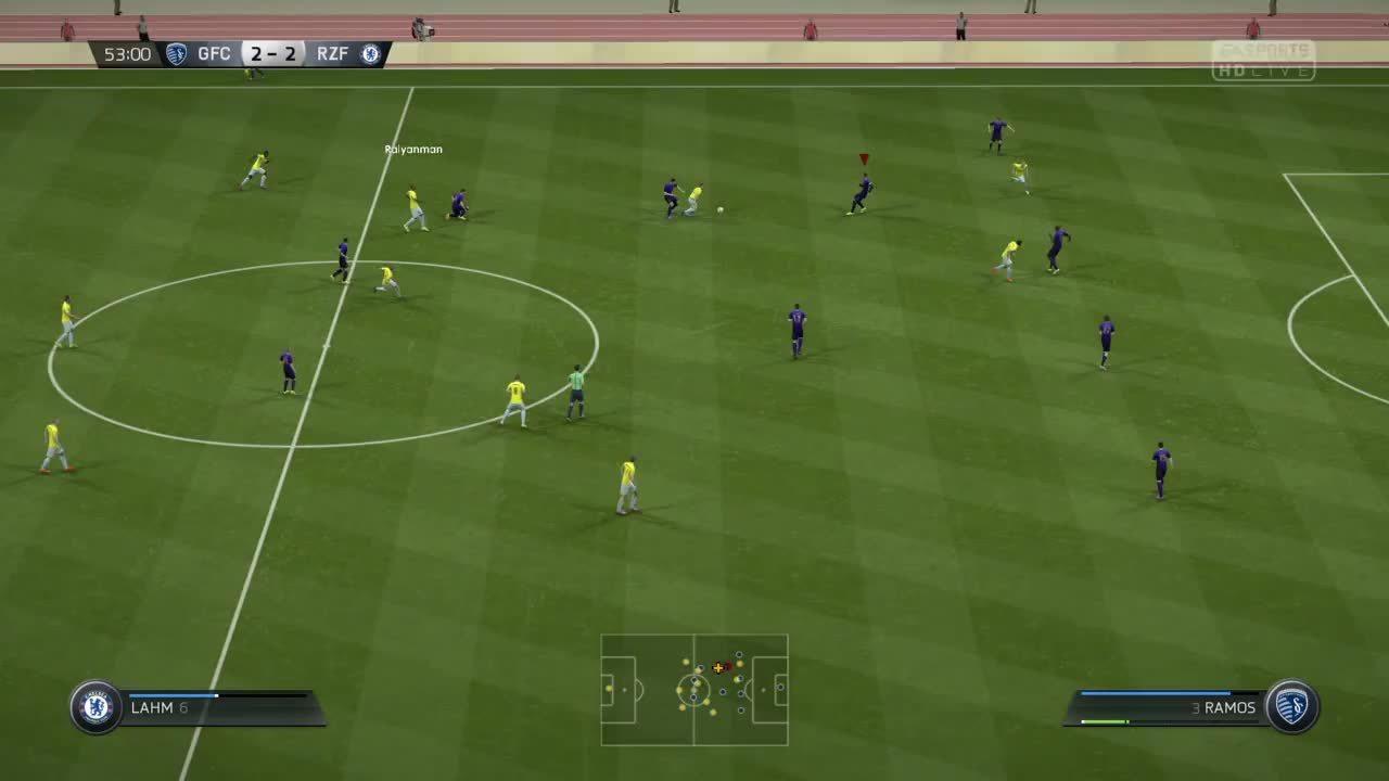 fail, fifa15, fifagifs, Goalkeepers aren't bugged. GIFs