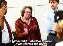 Watch and share Dwight Schrute GIFs and Michael Scott GIFs on Gfycat