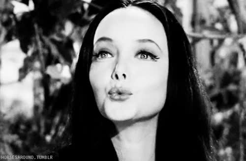 Watch and share The Addams Family GIFs and Black And White GIFs on Gfycat