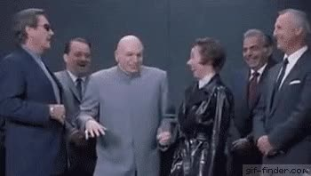 Watch and share Dr Evil Laugh GIFs on Gfycat