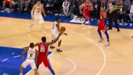 Watch Joel Embiid — Philadelphia 76ers GIF by Off-Hand (@off-hand) on Gfycat. Discover more 031219 GIFs on Gfycat
