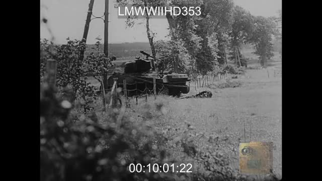 Watch and share German Troops Inspect Disabled Sherman Tanks GIFs on Gfycat