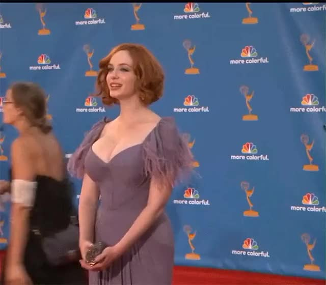 Watch and share Christina Hendricks GIFs and Red Carpet GIFs on Gfycat