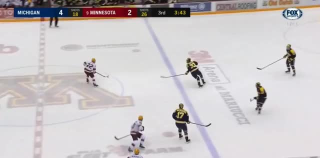 Watch and share Mich At Minn Fri 7 GIFs by aschnepp on Gfycat