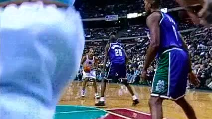 Watch and share Grant Hill, Detroit Pistons GIFs by Off-Hand on Gfycat