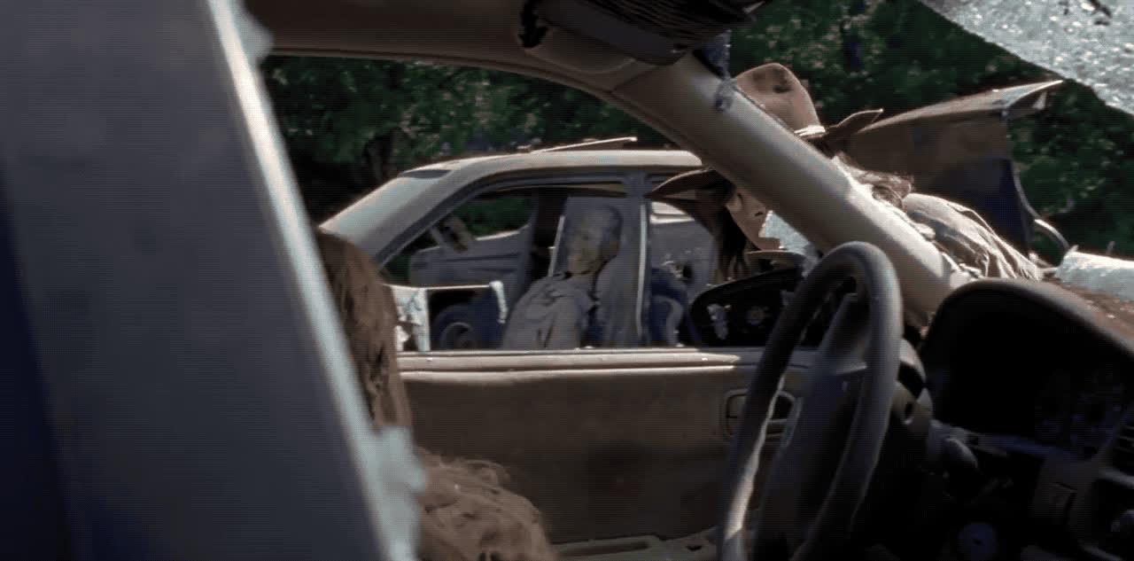 carl, smh, walking dead, wtf, zombie, Walking Dead - Carl GIFs