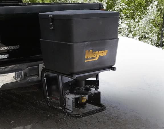 Watch Meyer Tailgate Mount Salt Spreader, 400-lb GIF on Gfycat. Discover more related GIFs on Gfycat