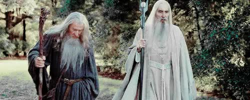 Watch and share Gandalf GIFs on Gfycat