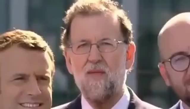 Watch Rajoy Sexy Reaction to Trump Speech. La sexy Reacción de Rajoy al discurso de Donald Trump GIF on Gfycat. Discover more related GIFs on Gfycat