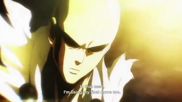Watch One Punch Man Saitama vs Boros Serious Series Serious Punch GIF on Gfycat. Discover more related GIFs on Gfycat