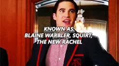 Watch and share Also Kurt He Next GIFs and Blaine Anderson GIFs on Gfycat