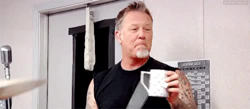 Watch and share James Hetfield GIFs and Metallica GIFs on Gfycat
