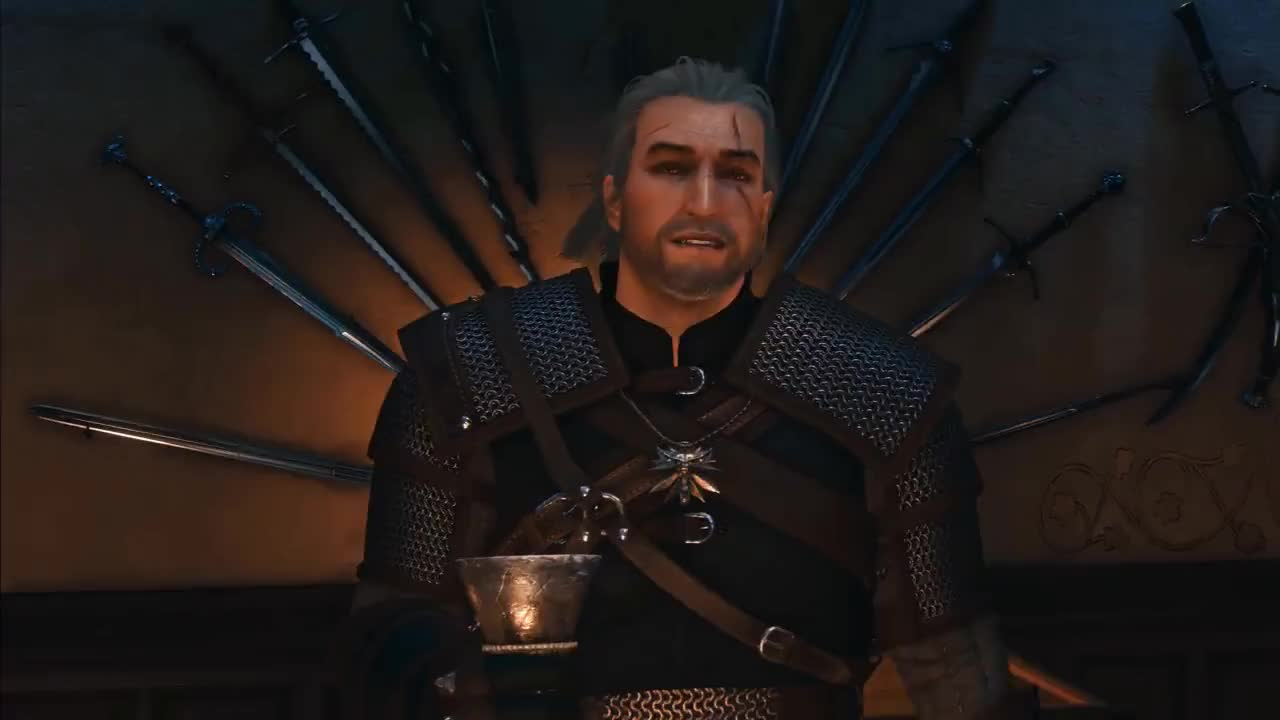 Min, Witcher, anniversary, cheers, wied, Celebrating the 10th anniversary of The Witcher GIFs