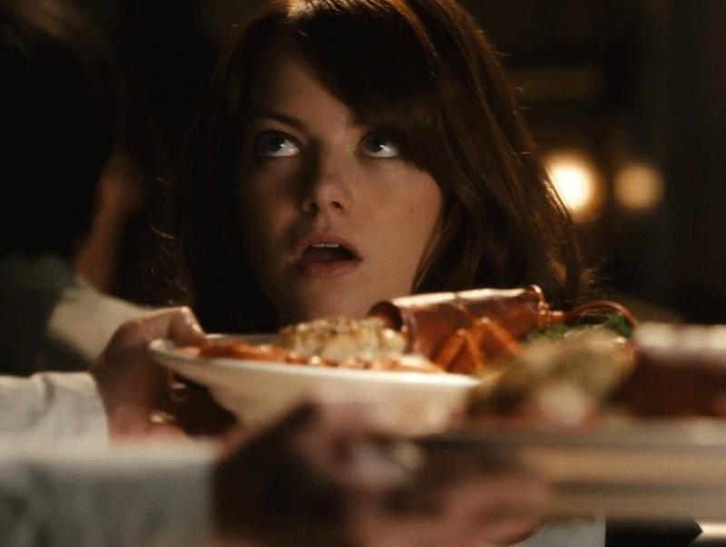 Emma Stone, Hungry GIFs