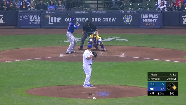 Watch and share Jason Heyward Dong GIFs and Chicago Cubs GIFs on Gfycat