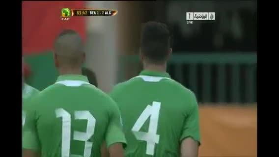 Burkina Faso 3 ALGERIE 2  Résumé du match 12/10/2013 (reddit) GIFs