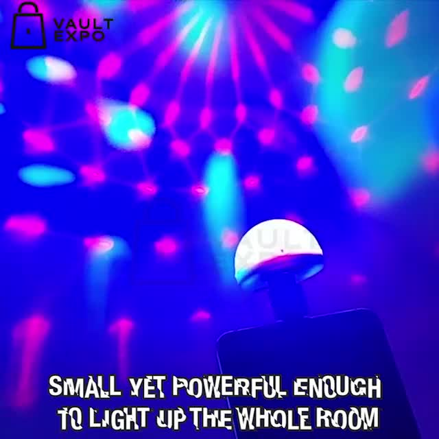 Watch and share USB PARTY LIGHTS DISCO BALL-new-ve-karlo GIFs on Gfycat